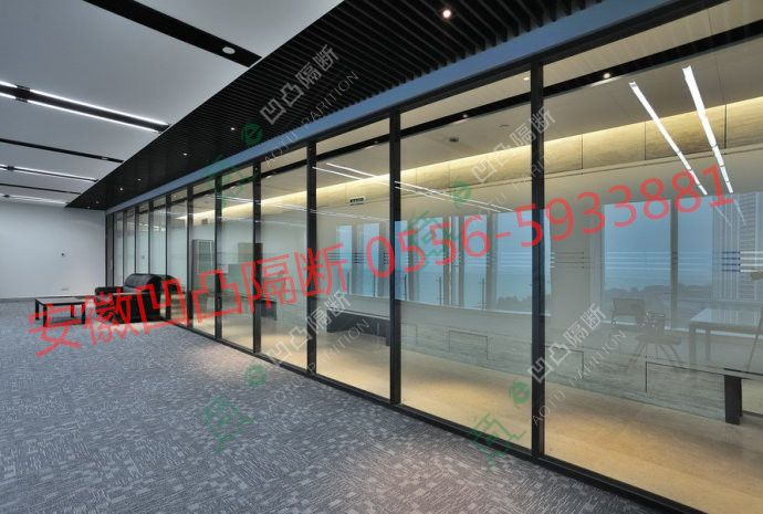 ◆直播玻高隔间安装◆_玻璃高隔间_铝合金高隔间_办公室高隔间_成品高隔间_凹凸隔断