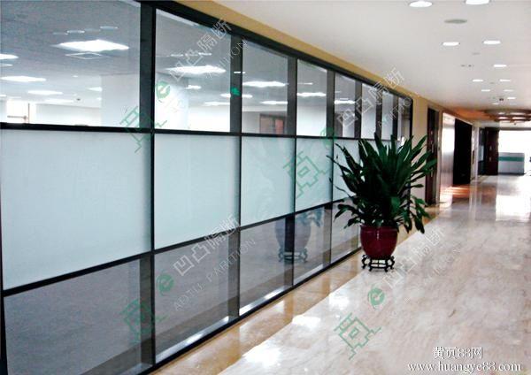 三亚隔断_三亚玻璃隔断_三亚铝合金隔断_三亚办公室隔断_◆双玻百叶价格不一◆